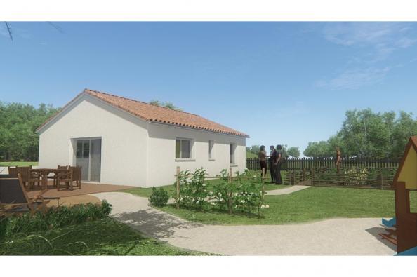 Modèle de maison MAISON DE PLAIN PIED - 66 A 76 M2 - HAUTE-VIENNE - 2 chambres  : Photo 2