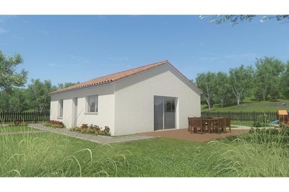 Modèle de maison MAISON DE PLAIN PIED - 66 A 76 M2 - HAUTE-VIENNE - 2 chambres  : Photo 3