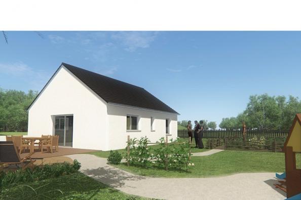 Modèle de maison MAISON DE PLAIN PIED - 66 A 76 M2 - CORRÈZE - LOT 2 chambres  : Photo 2