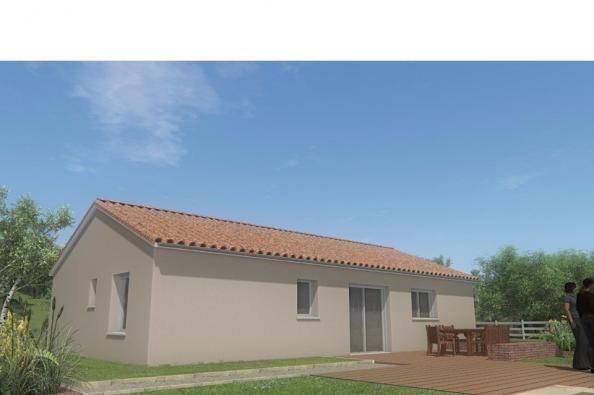 Modèle de maison MAISON DE PLAIN PIED - 75 M2 - HAUTE-VIENNE - ACAC 3 chambres  : Photo 2