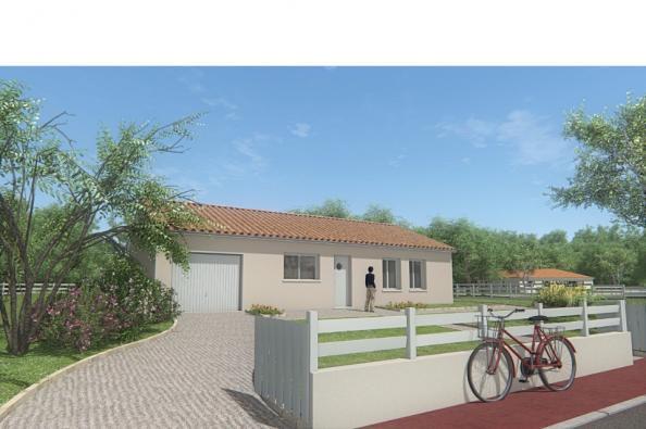 Modèle de maison MAISON DE PLAIN PIED - 75 M2 - HAUTE-VIENNE - ACAC 3 chambres  : Photo 3