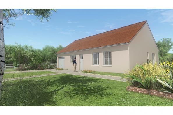 Modèle de maison MAISON DE PLAIN PIED - 75 M2 - CREUSE - ACACIA 5 3 chambres  : Photo 1