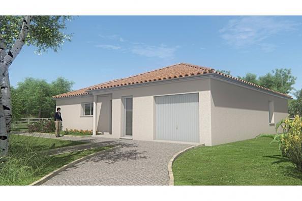Modèle de maison MAISON PLAIN PIED -108 M 2 - HAUTE-VIENNE - ACCORD 3 chambres  : Photo 1