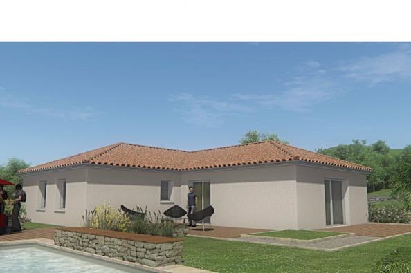 Modèle de maison MAISON PLAIN PIED -108 M 2 - HAUTE-VIENNE - ACCORD 3 chambres  : Photo 2