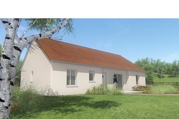 Modèle de maison MAISON DE PLAIN PIED - 110 M2 - CREUSE - FAMILY 6 3 chambres  : Photo 3