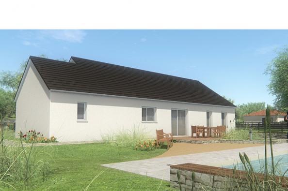 Modèle de maison MAISON DE PLAIN PIED - 110 M2 - CORRÈZE - NORD DU 3 chambres  : Photo 2