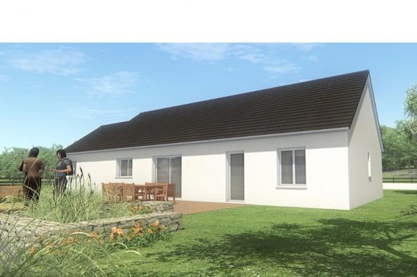 Modèle de maison MAISON DE PLAIN PIED - 110 M2 - CORRÈZE - NORD DU 3 chambres  : Photo 3