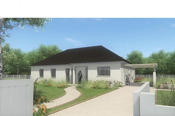 Modèle de maison MAISON DE PLAIN PIED - 120 M2 - CORRÈZE ET NORD DU 4 chambres  : Photo 1