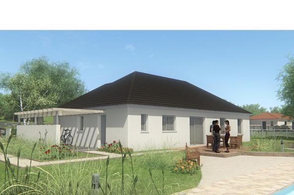 Modèle de maison MAISON DE PLAIN PIED - 120 M2 - CORRÈZE ET NORD DU 4 chambres  : Photo 2