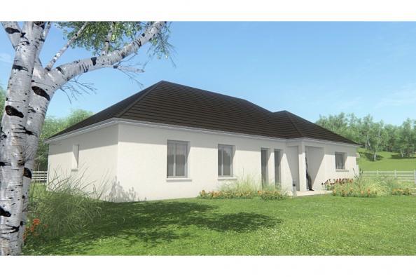 Modèle de maison MAISON DE PLAIN PIED - 120 M2 - CORRÈZE ET NORD DU 4 chambres  : Photo 3