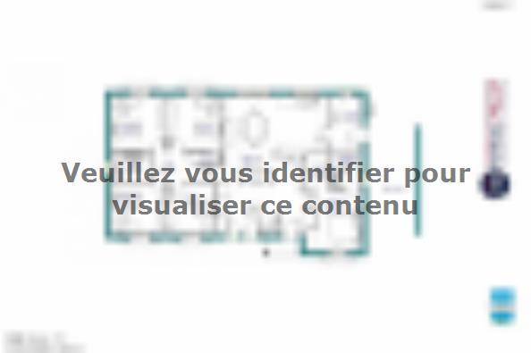 Modele De Maison Maison De Plain Pied 120 M2 Correze Et Nord Du 4 Chambres Maisons France Confort