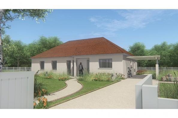Modèle de maison MAISON DE PLAIN PIED - 120 M2 - CREUSE - FAMILY 7 4 chambres  : Photo 1