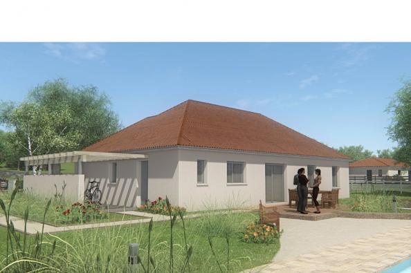 Modèle de maison MAISON DE PLAIN PIED - 120 M2 - CREUSE - FAMILY 7 4 chambres  : Photo 2