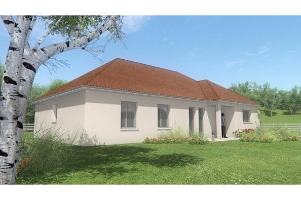 Modèle de maison MAISON DE PLAIN PIED - 120 M2 - CREUSE - FAMILY 7 4 chambres  : Photo 3