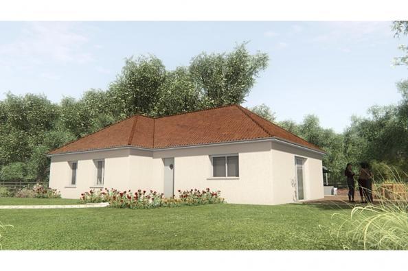 Modèle de maison MAISON SUR SOUS-SOL - 93 M2 - CREUSE - GARTEMPE 5 3 chambres  : Photo 1