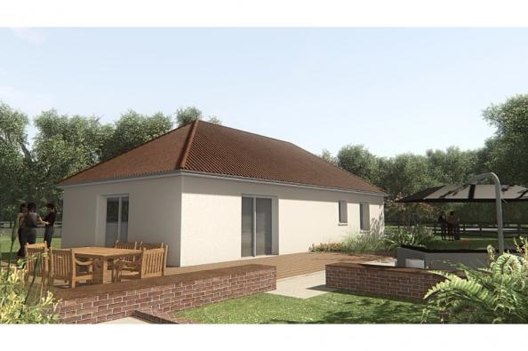 Modèle de maison MAISON SUR SOUS-SOL - 93 M2 - CREUSE - GARTEMPE 5 3 chambres  : Photo 2