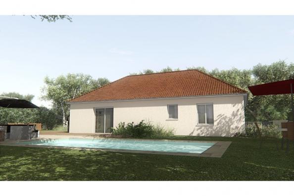 Modèle de maison MAISON SUR SOUS-SOL - 93 M2 - CREUSE - GARTEMPE 5 3 chambres  : Photo 3