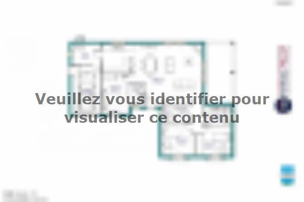Plan de maison MAISON DE PLAIN PIED - 102 M2 - CORRÈZE, NORD DU L 3 chambres  : Photo 1