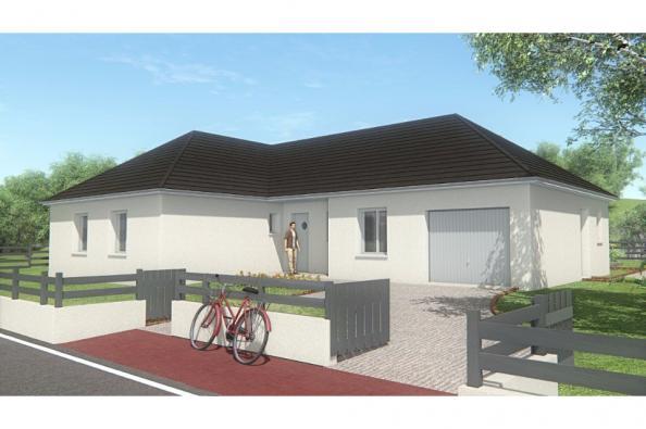 Modèle de maison MAISON DE PLAIN PIED - 102 M2 - CORRÈZE, NORD DU L 3 chambres  : Photo 1