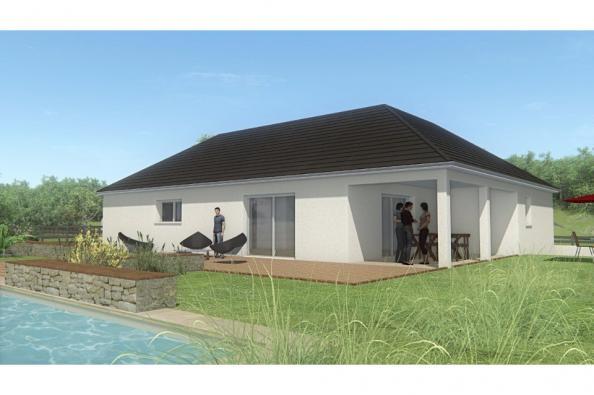 Modèle de maison MAISON DE PLAIN PIED - 102 M2 - CORRÈZE, NORD DU L 3 chambres  : Photo 2