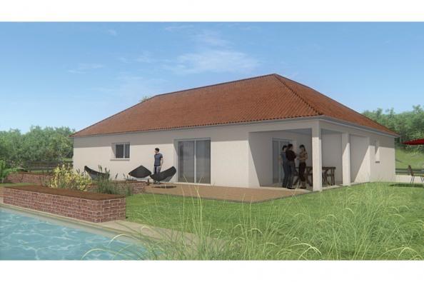 Modèle de maison MAISON DE PLAIN PIED - 102 M2 - CREUSE - LANDA 5SP 3 chambres  : Photo 1
