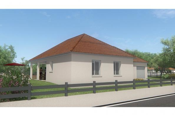 Modèle de maison MAISON DE PLAIN PIED - 102 M2 - CREUSE - LANDA 5SP 3 chambres  : Photo 2