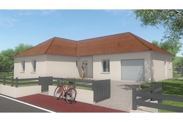 Modèle de maison MAISON DE PLAIN PIED - 102 M2 - CREUSE - LANDA 5SP 3 chambres  : Photo 3