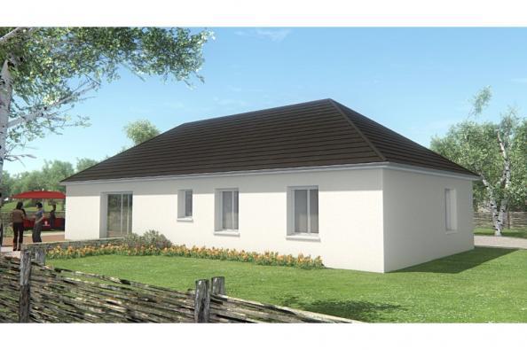 Modèle de maison MAISON DE PLAIN PIED - 102 M2 - CORRÈZE, NORD DU L 3 chambres  : Photo 3