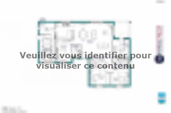 Plan de maison MAISON DE PLAIN PIED - 111 M2 - HAUTE-VIENNE - LAN 3 chambres  : Photo 1