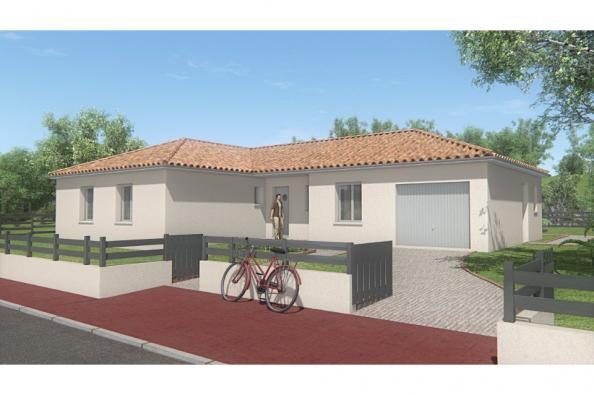 Modèle de maison MAISON DE PLAIN PIED - 111 M2 - HAUTE-VIENNE - LAN 3 chambres  : Photo 1