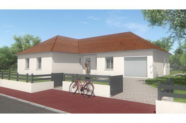 Modèle de maison MAISON DE PLAIN PIED - 111 M2 - CREUSE - LANDA 6SP 3 chambres  : Photo 1