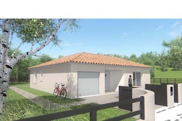 Modèle de maison MAISON DE PLAIN PIED - 78 M 2 - HAUTE-VIENNE - LEN 2 chambres  : Photo 3