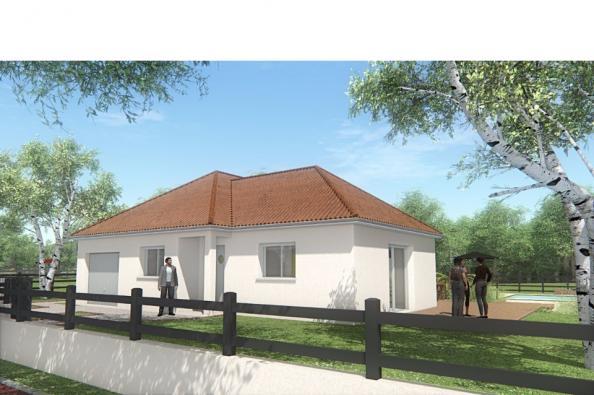 Modèle de maison MAISON DE PLAIN PIED - 90 M2 - CREUSE - LENA 5 3 chambres  : Photo 1