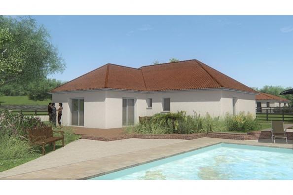 Modèle de maison MAISON DE PLAIN PIED - 90 M2 - CREUSE - LENA 5 3 chambres  : Photo 2