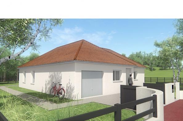Modèle de maison MAISON DE PLAIN PIED - 90 M2 - CREUSE - LENA 5 3 chambres  : Photo 3