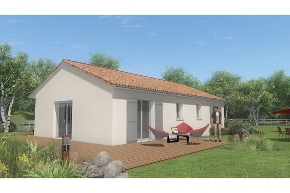 Modèle de maison MAISON SUR SOUS-SOL - 87 M 2 - HAUTE-VIENNE - MERC 3 chambres  : Photo 2