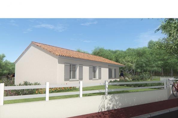 Modèle de maison MAISON SUR SOUS-SOL - 87 M 2 - HAUTE-VIENNE - MERC 3 chambres  : Photo 3
