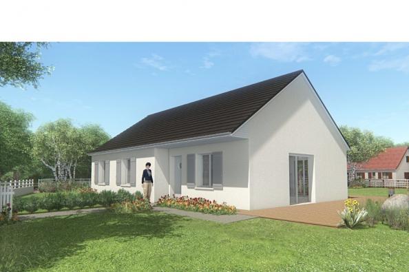 Modèle de maison MAISON SUR SOUS-SOL - 86 M 2 - CORRÈZE, NORD DU LO 3 chambres  : Photo 1