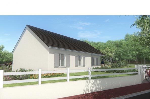Modèle de maison MAISON SUR SOUS-SOL - 86 M 2 - CORRÈZE, NORD DU LO 3 chambres  : Photo 3