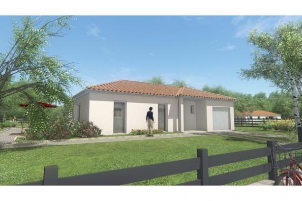 Modèle de maison MAISON DE PLAIN PIED - 98 M 2 - HAUTE-VIENNE - ACC 3 chambres  : Photo 3