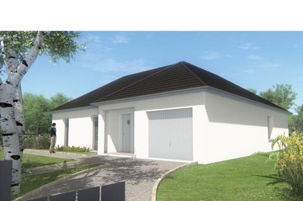 Modèle de maison MAISON DE PLAIN PIED - 98 M 2 - CORRÈZE - NORD DU 3 chambres  : Photo 1