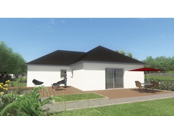 Modèle de maison MAISON DE PLAIN PIED - 98 M 2 - CORRÈZE - NORD DU 3 chambres  : Photo 2
