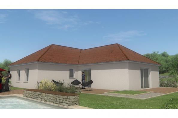 Modèle de maison MAISON DE PLAIN PIED - 108 M 2 - CREUSE - ACCORD 6 3 chambres  : Photo 1