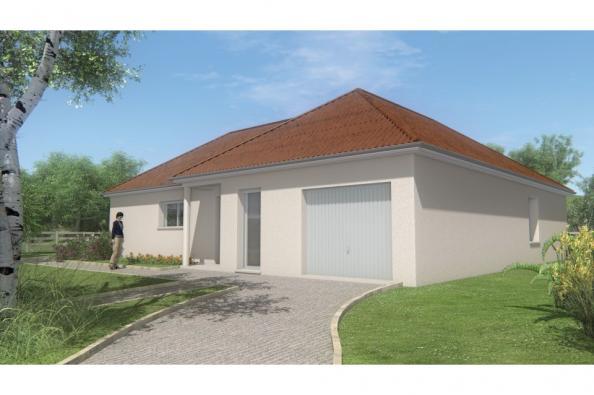 Modèle de maison MAISON DE PLAIN PIED - 108 M 2 - CREUSE - ACCORD 6 3 chambres  : Photo 2