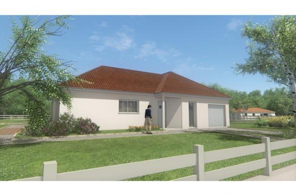 Modèle de maison MAISON DE PLAIN PIED - 108 M 2 - CREUSE - ACCORD 6 3 chambres  : Photo 3
