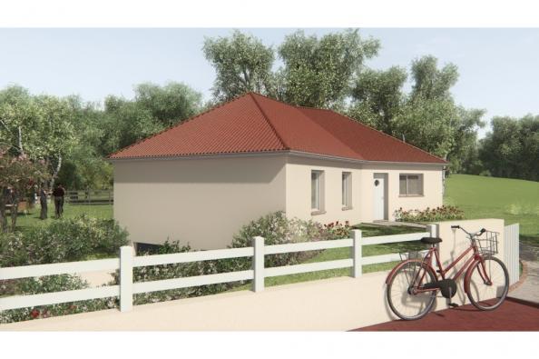 Modèle de maison MAISON SUR SOUS-SOL - 91 M2 - HAUTE-VIENNE - ELLA 3 chambres  : Photo 3