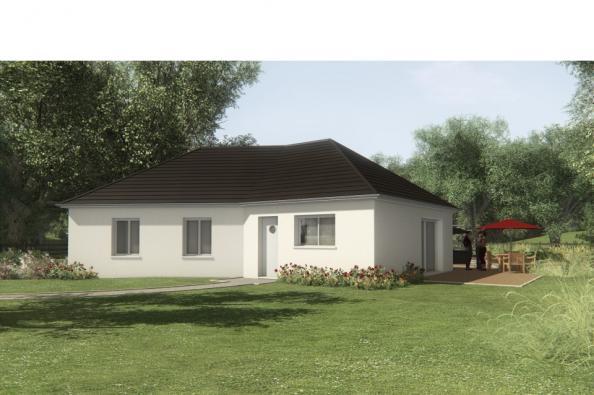 Modèle de maison MAISON SUR SOUS-SOL - 91 M2 - CORREZE -LOT-DORDOGN 3 chambres  : Photo 1