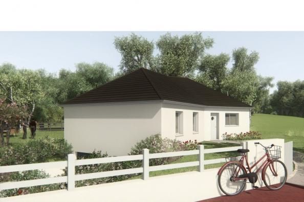 Modèle de maison MAISON SUR SOUS-SOL - 91 M2 - CORREZE -LOT-DORDOGN 3 chambres  : Photo 3