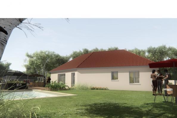 Modèle de maison MAISONS SUR SOUS-SOL - 100 M2 - HAUTE-VIENNE - ELL 4 chambres  : Photo 3