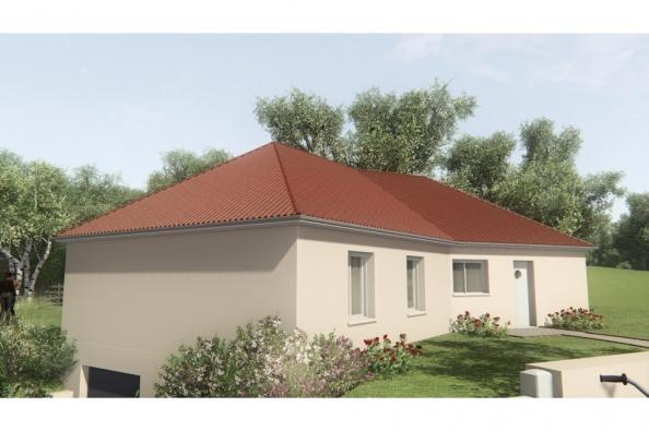 Modèle de maison MAISONS SUR SOUS-SOL - 100 M2 - HAUTE-VIENNE - ELL 4 chambres  : Photo 4
